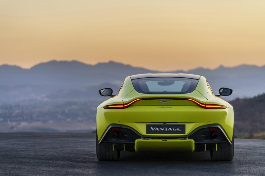 2018 Aston Martin Vantage revealed, packs 510 PS Image #742038