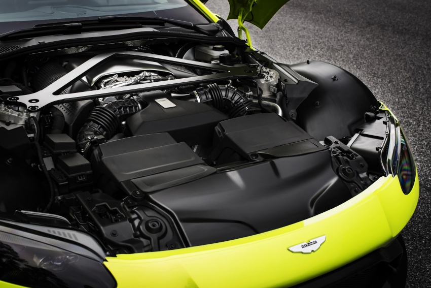 2018 Aston Martin Vantage revealed, packs 510 PS Image #742039