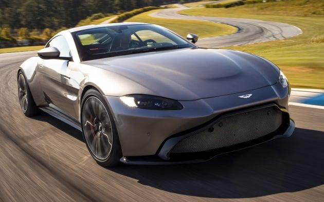 2018 Aston Martin Vantage Revealed Packs 510 Ps Paultan Org