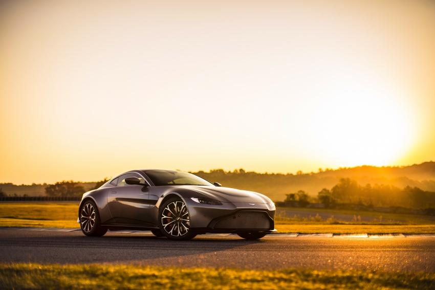 2018 Aston Martin Vantage revealed, packs 510 PS Image #742047