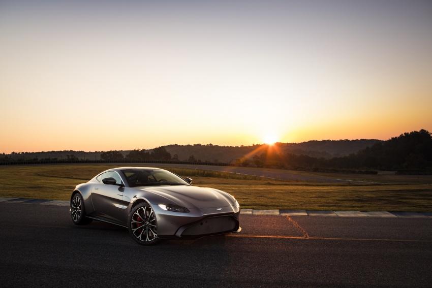 2018 Aston Martin Vantage revealed, packs 510 PS Image #742048