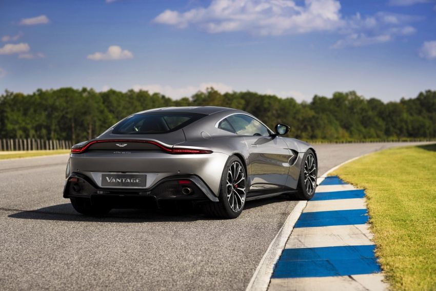 2018 Aston Martin Vantage revealed, packs 510 PS Image #742049