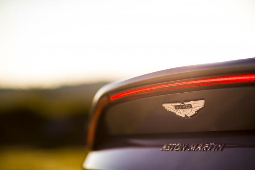 2018 Aston Martin Vantage revealed, packs 510 PS Image #742050