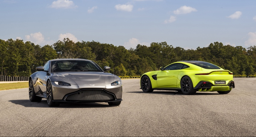 2018 Aston Martin Vantage revealed, packs 510 PS Image #742069