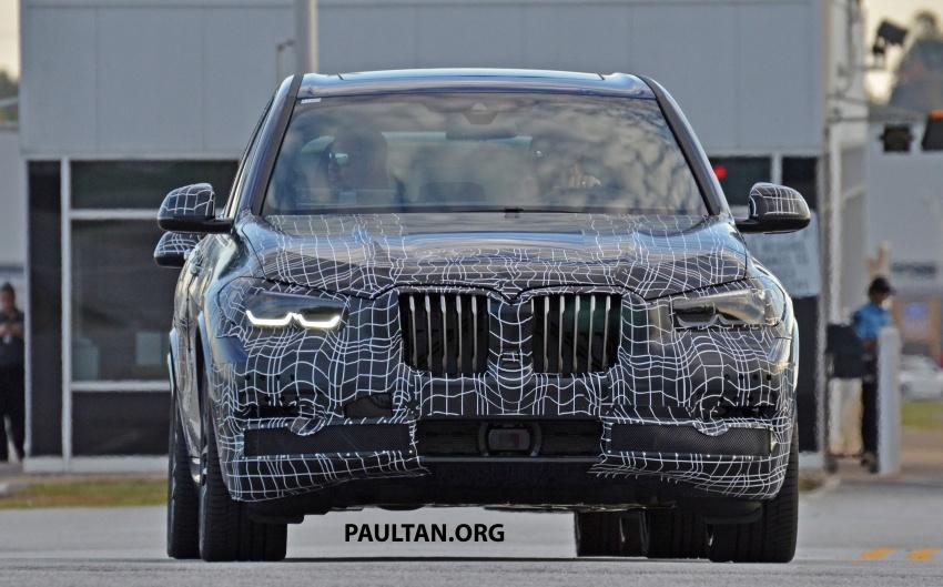 SPIED: G05 BMW X5 sheds more camo; M50i variant? Image #733323