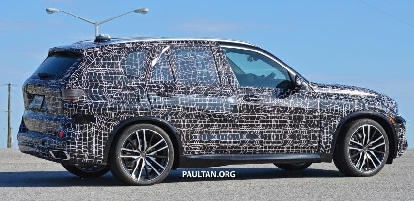 SPIED: G05 BMW X5 sheds more camo; M50i variant? Image #733336
