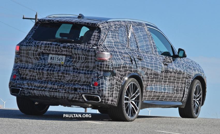 SPIED: G05 BMW X5 sheds more camo; M50i variant? Image #733337