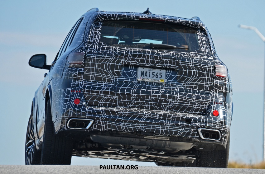 SPIED: G05 BMW X5 sheds more camo; M50i variant? Image #733338
