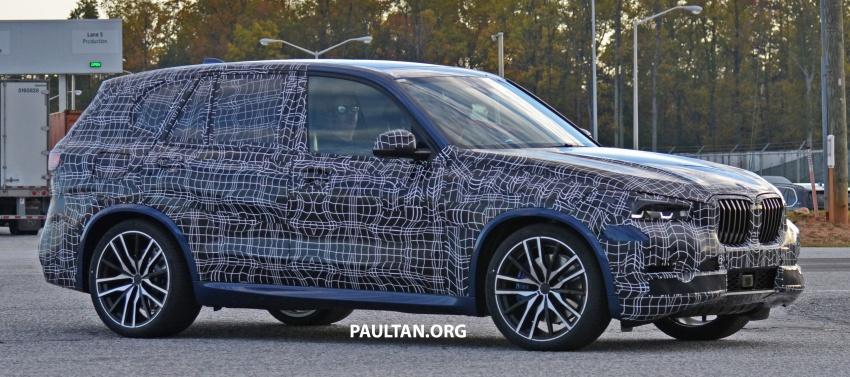 SPIED: G05 BMW X5 sheds more camo; M50i variant? Image #733325