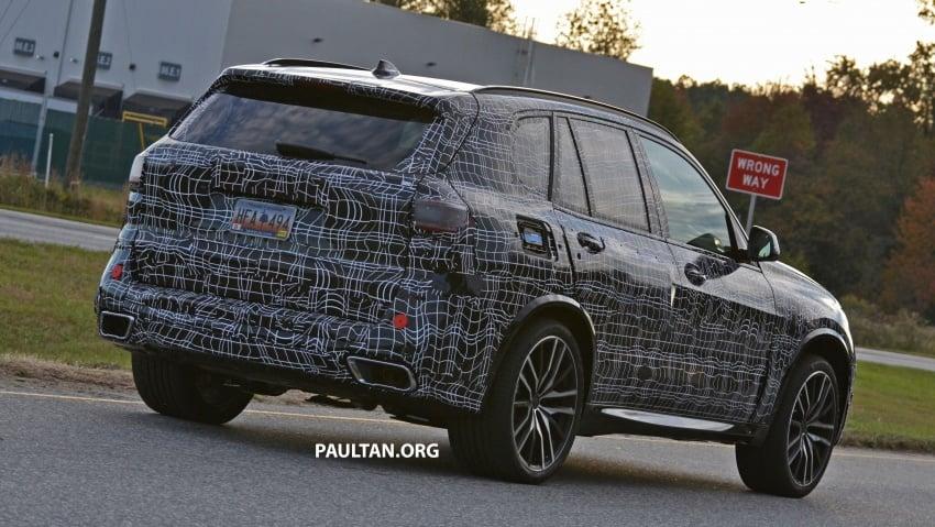 SPIED: G05 BMW X5 sheds more camo; M50i variant? Image #733332