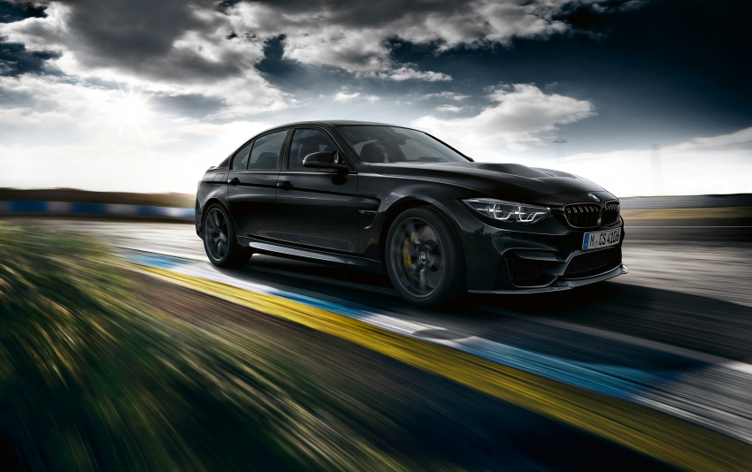 BMW M3 CS debuts with 460 hp, 280 km/h top speed Image #734547