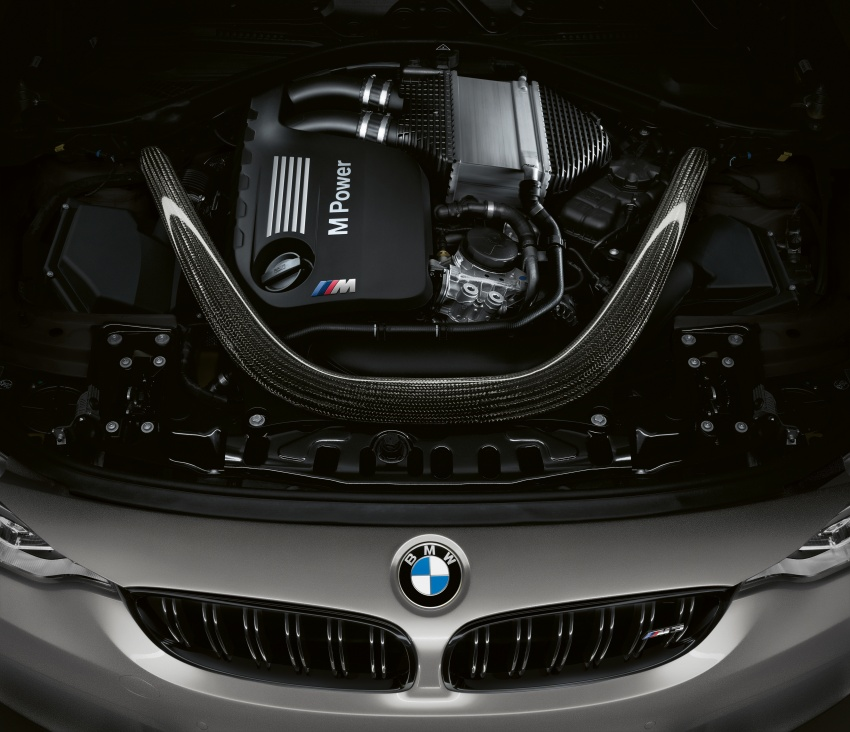 BMW M3 CS debuts with 460 hp, 280 km/h top speed Image #734559