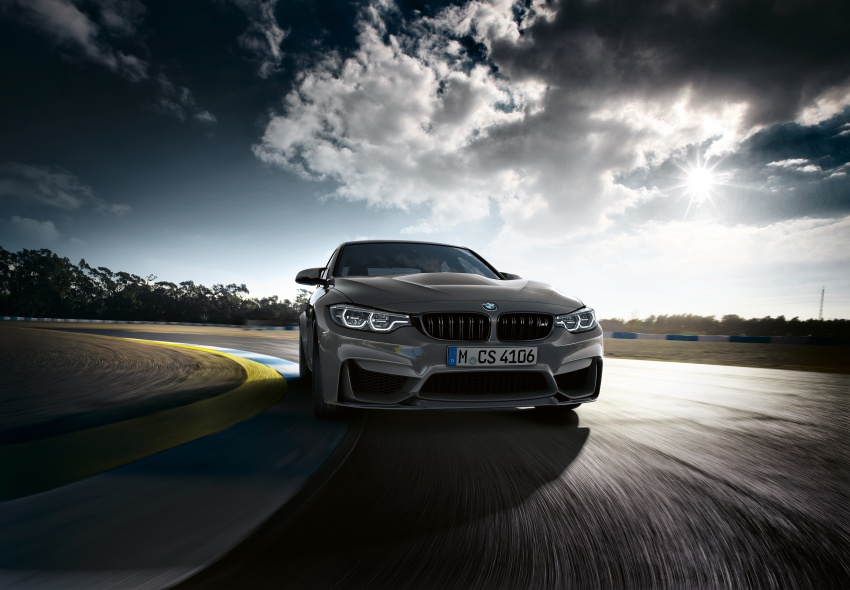 BMW M3 CS debuts with 460 hp, 280 km/h top speed Image #734548