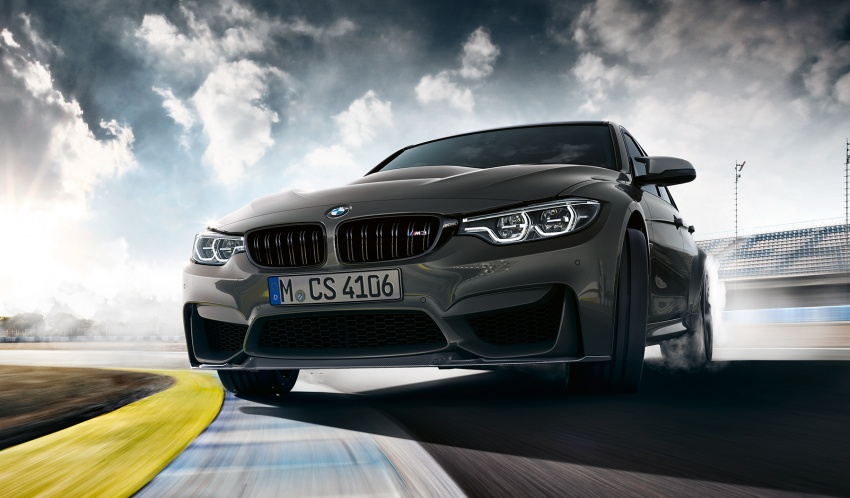 BMW M3 CS debuts with 460 hp, 280 km/h top speed Image #734549
