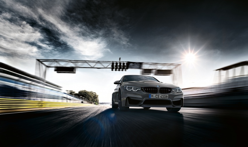 BMW M3 CS debuts with 460 hp, 280 km/h top speed Image #734550
