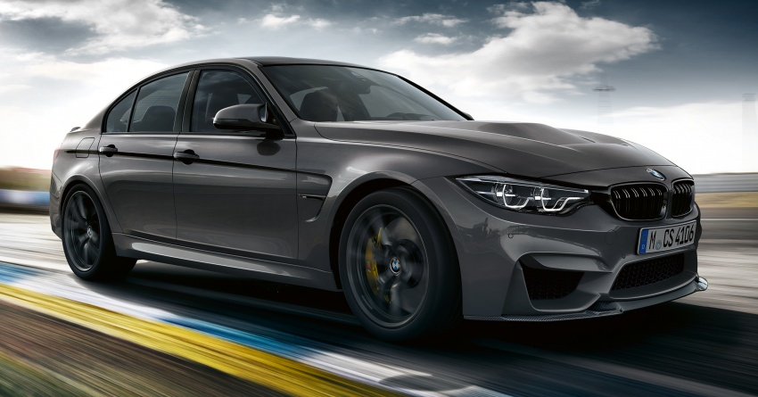 BMW M3 CS debuts with 460 hp, 280 km/h top speed Image #734551