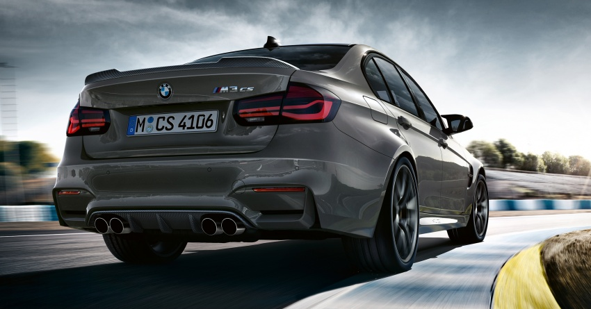 BMW M3 CS debuts with 460 hp, 280 km/h top speed Image #734552