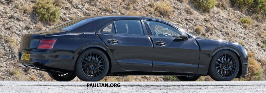 SPYSHOTS: Next-gen Bentley Flying Spur seen testing Image #737102