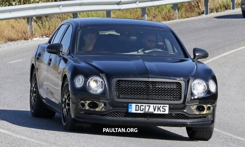 SPYSHOTS: Next-gen Bentley Flying Spur seen testing Image #737092
