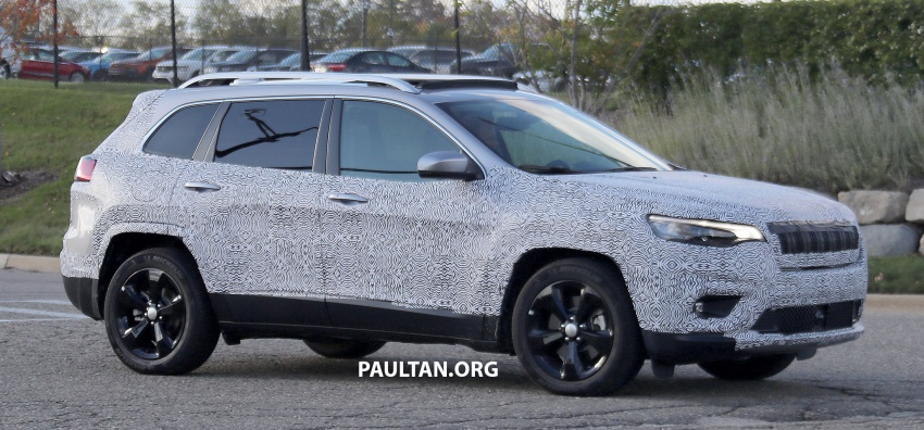 SPIED: 2019 Jeep Cherokee sheds some camouflage Image #737846