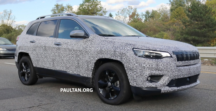 SPIED: 2019 Jeep Cherokee sheds some camouflage Image #737848
