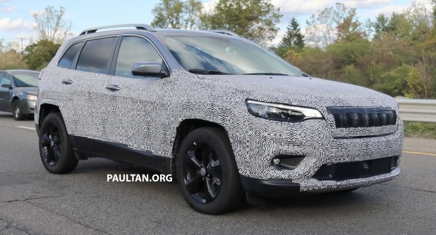 SPIED: 2019 Jeep Cherokee sheds some camouflage Image #737849
