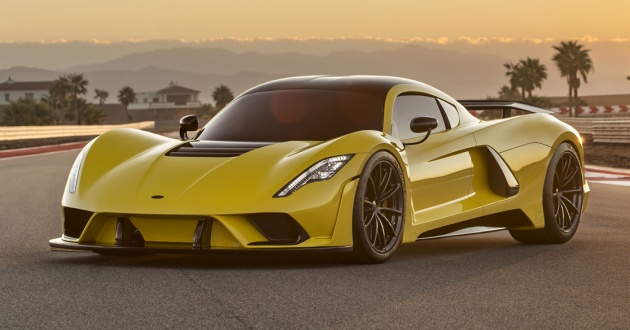 Hennessey Venom F5 - 1,600 hp, 484 km/h top speed