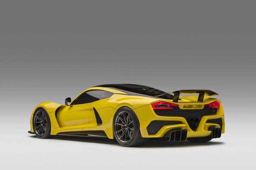 Hennessey Venom F5 – 1,600 hp, 1,338 kg, RM6.7 juta Image #731606
