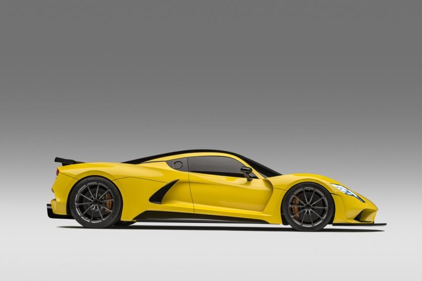 Hennessey Venom F5 – 1,600 hp, 1,338 kg, RM6.7 juta Image #731609