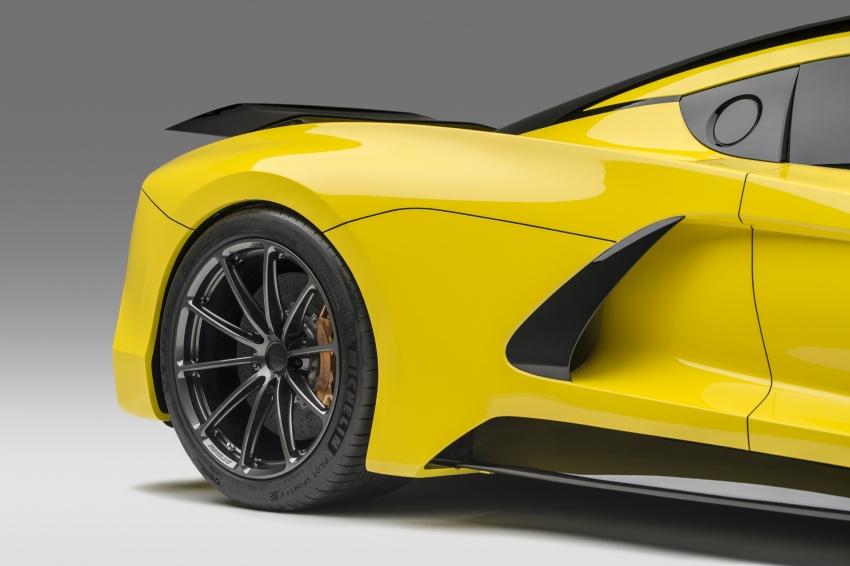 Hennessey Venom F5 – 1,600 hp, 1,338 kg, RM6.7 juta Image #731624