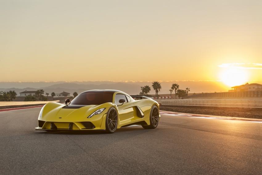 Hennessey Venom F5 – 1,600 hp, 1,338 kg, RM6.7 juta Image #731590
