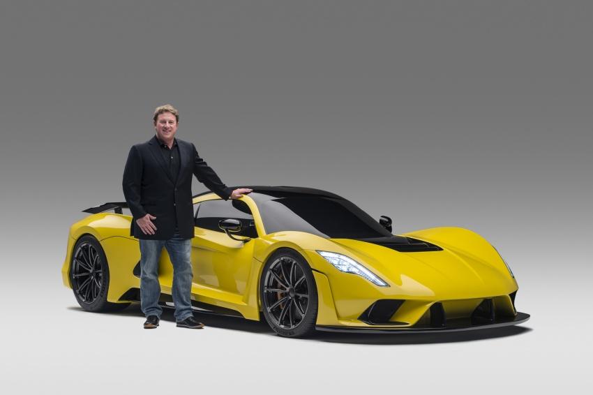 Hennessey Venom F5 – 1,600 hp, 1,338 kg, RM6.7 juta Image #731629
