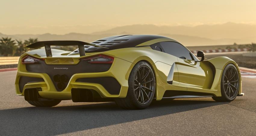 Hennessey Venom F5 – 1,600 hp, 1,338 kg, RM6.7 juta Image #731592