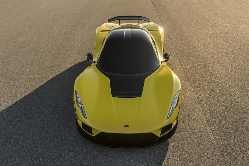 Hennessey Venom F5 – 1,600 hp, 1,338 kg, RM6.7 juta Image #731598