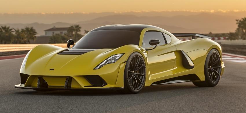 Hennessey Venom F5 – 1,600 hp, 1,338 kg, RM6.7 juta Image #731631
