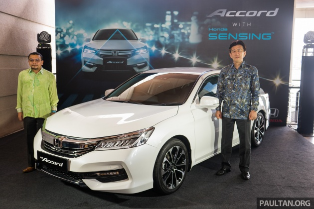 Honda Accord 2 4 VTi-L Advance now with Sensing safety package