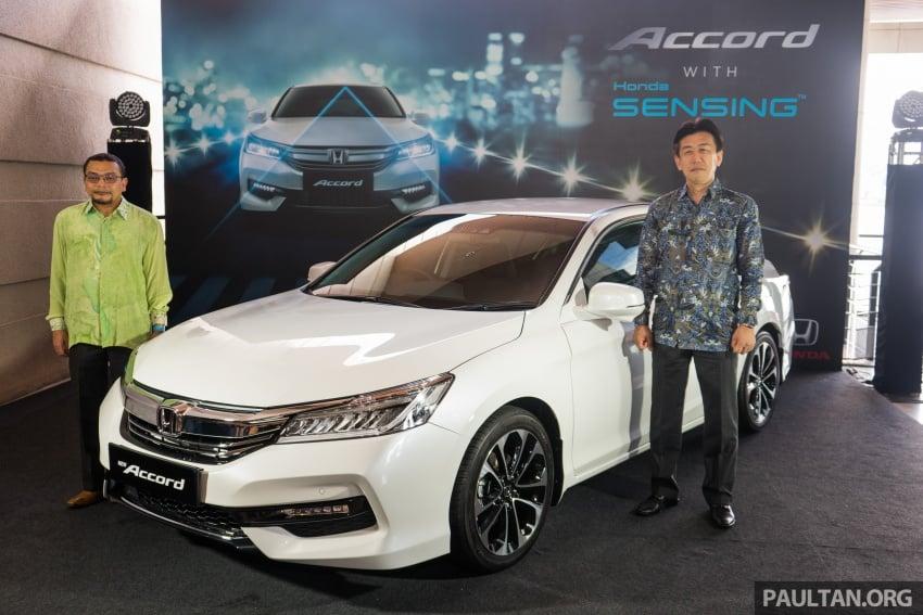 Honda Accord 2.4 VTi-L Advance now with Sensing safety package, RM170k – base 2.0 VTi dropped Image #733605