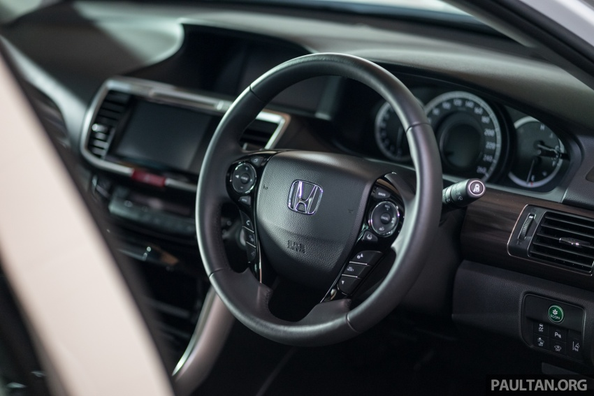 Honda Accord 2.4 VTi-L Advance now with Sensing safety package, RM170k – base 2.0 VTi dropped Image #733782