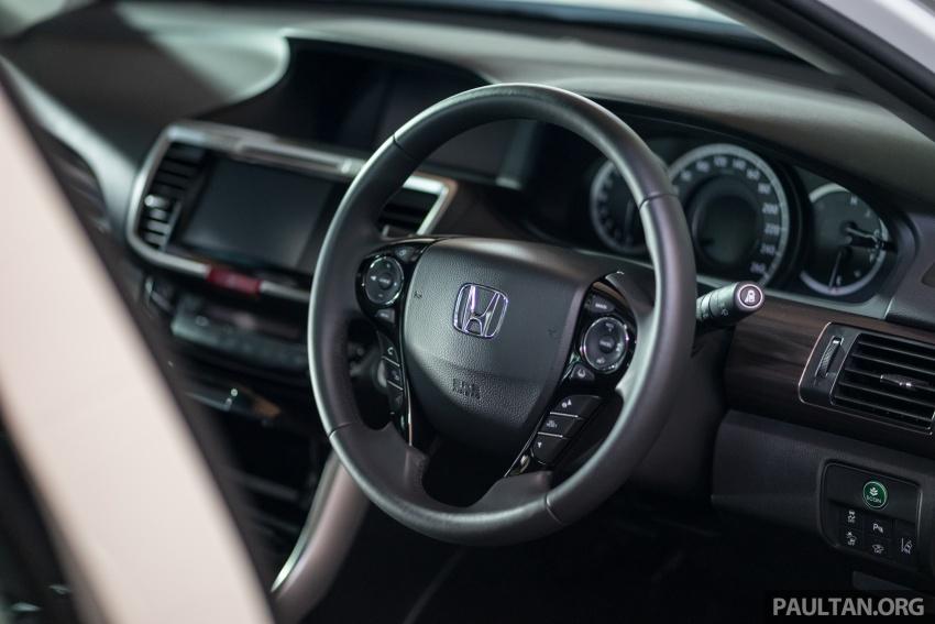 Honda Accord 2.4 VTi-L Advance now with Sensing safety package, RM170k – base 2.0 VTi dropped Image #733782