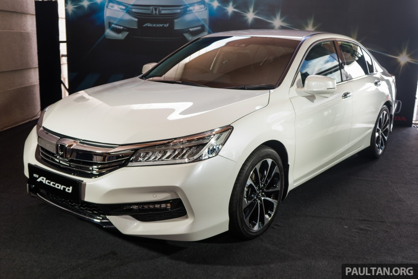 Honda Accord 2.4 VTi-L Advance now with Sensing safety package, RM170k – base 2.0 VTi dropped Image #733607