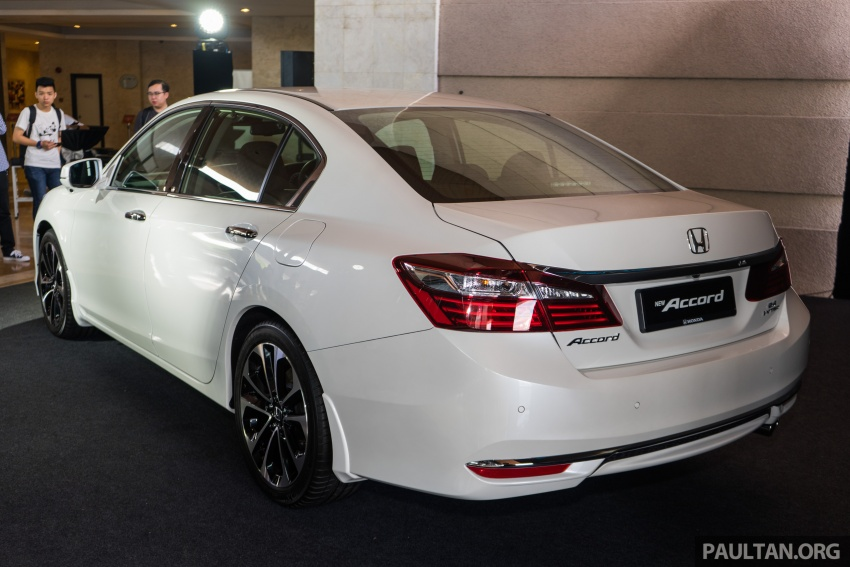 Honda Accord 2.4 VTi-L Advance now with Sensing safety package, RM170k – base 2.0 VTi dropped Image #733613