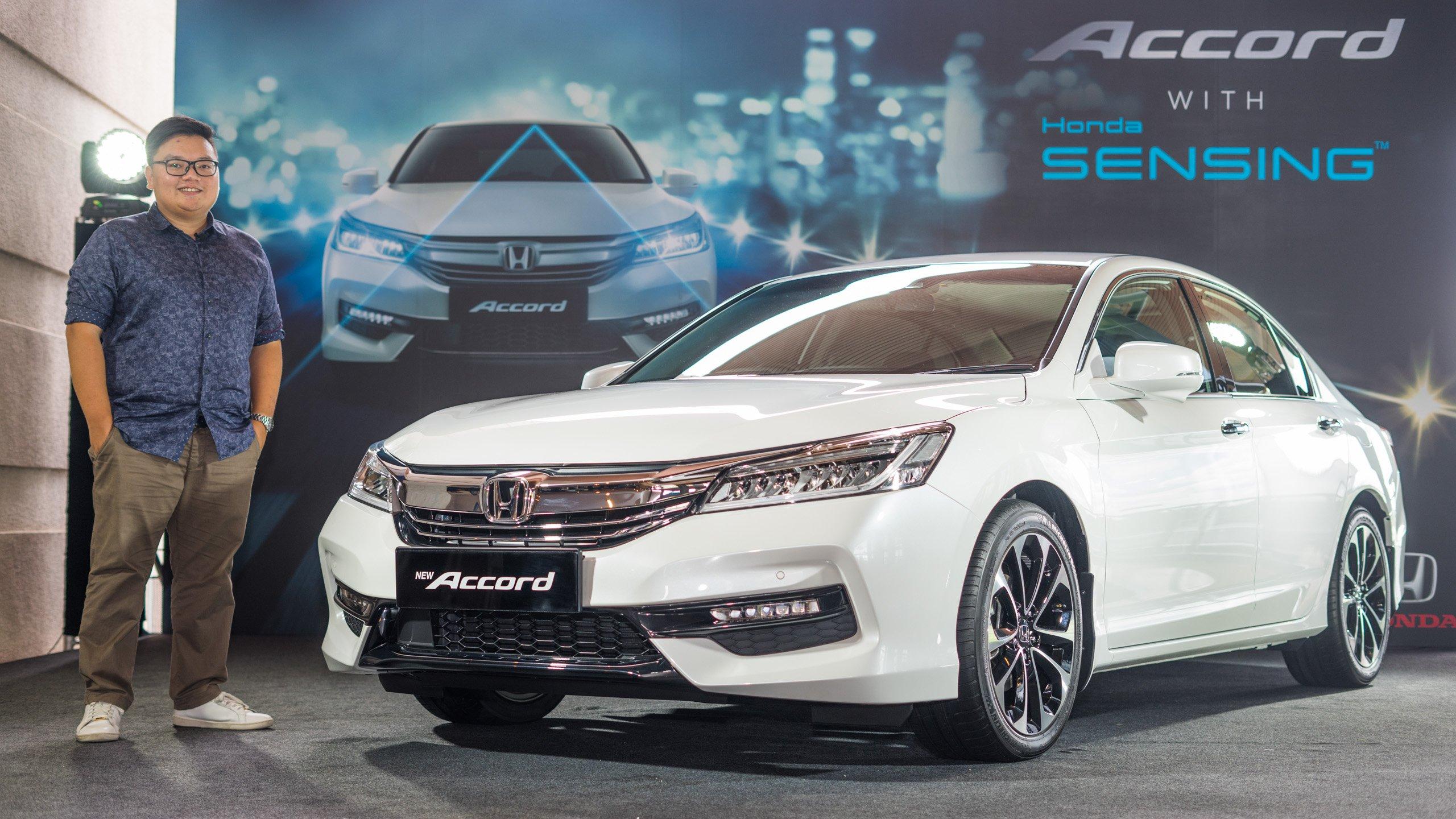 Honda Accord Sensing >> First Look Honda Accord 2 4 With Sensing Rm170k