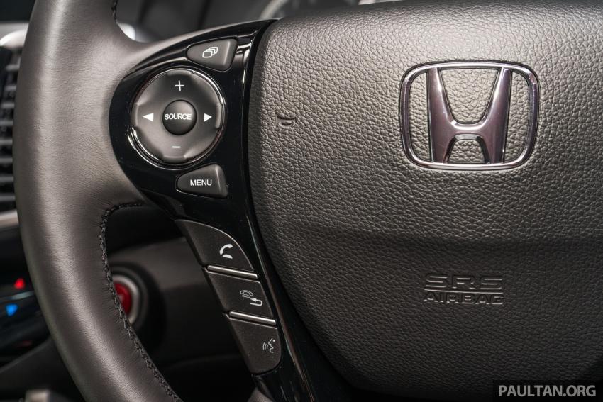 Honda Accord 2.4 VTi-L Advance now with Sensing safety package, RM170k – base 2.0 VTi dropped Image #733806