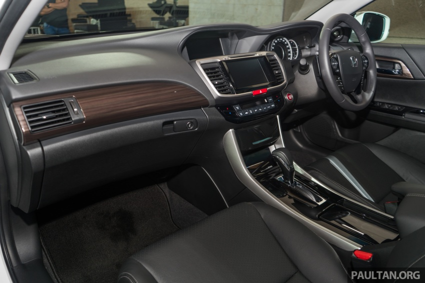Honda Accord 2.4 VTi-L Advance now with Sensing safety package, RM170k – base 2.0 VTi dropped Image #733785