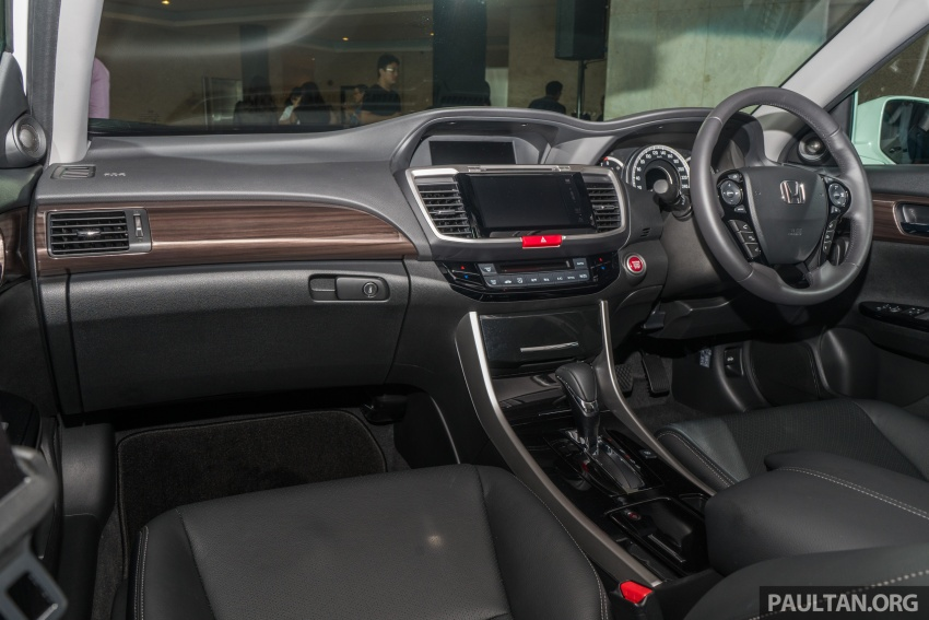 Honda Accord 2.4 VTi-L Advance now with Sensing safety package, RM170k – base 2.0 VTi dropped Image #733786