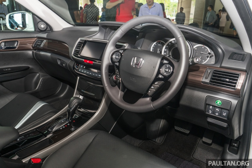 Honda Accord 2.4 VTi-L Advance now with Sensing safety package, RM170k – base 2.0 VTi dropped Image #733787