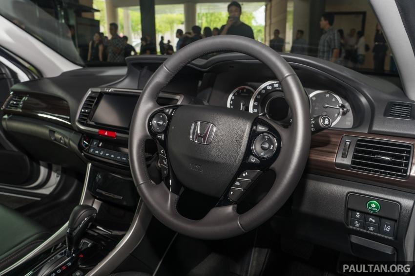 Honda Accord 2.4 VTi-L Advance now with Sensing safety package, RM170k – base 2.0 VTi dropped Image #733801
