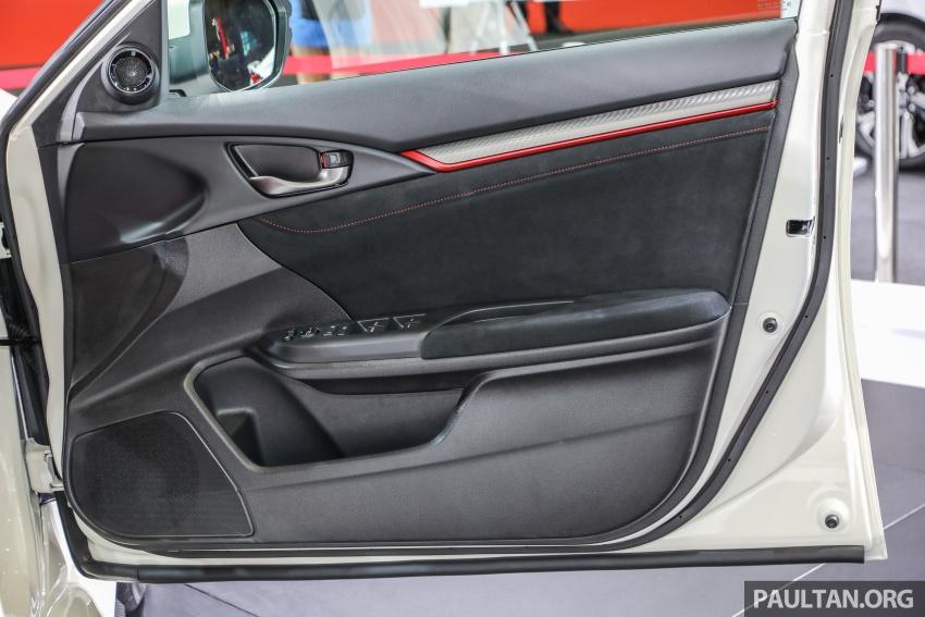 Honda Civic Type R FK8 kini dilancarkan di Malaysia secara rasmi – jana 310 PS/400Nm, harga dari RM320k Image #736509