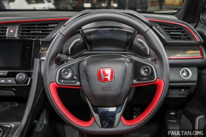 Honda Civic Type R FK8 kini dilancarkan di Malaysia secara rasmi – jana 310 PS/400Nm, harga dari RM320k Image #736478