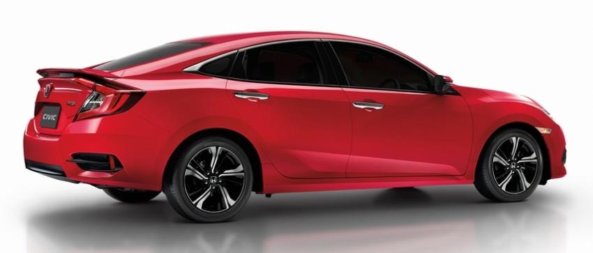 Honda Civic Red makes its debut at Thai Motor Expo Image #745381